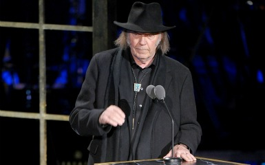 Neil Young rock n roll hall of fame